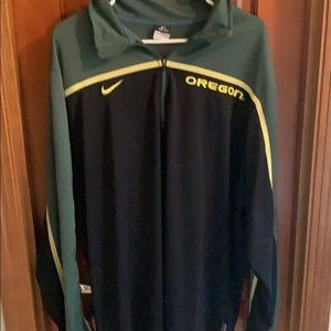 Men's Oregon Duck Nike Quarter Zip Dri Fit